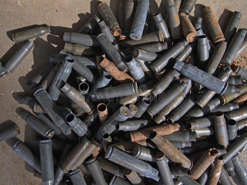 Het Staal van het geweer stock afbeelding