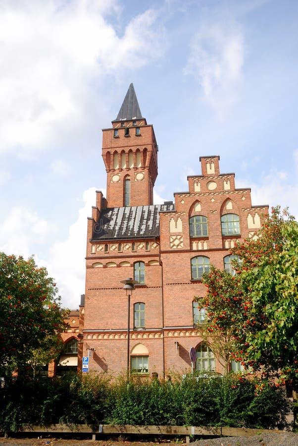 Het stadhuis, Jonkoping, Zweden stock fotografie