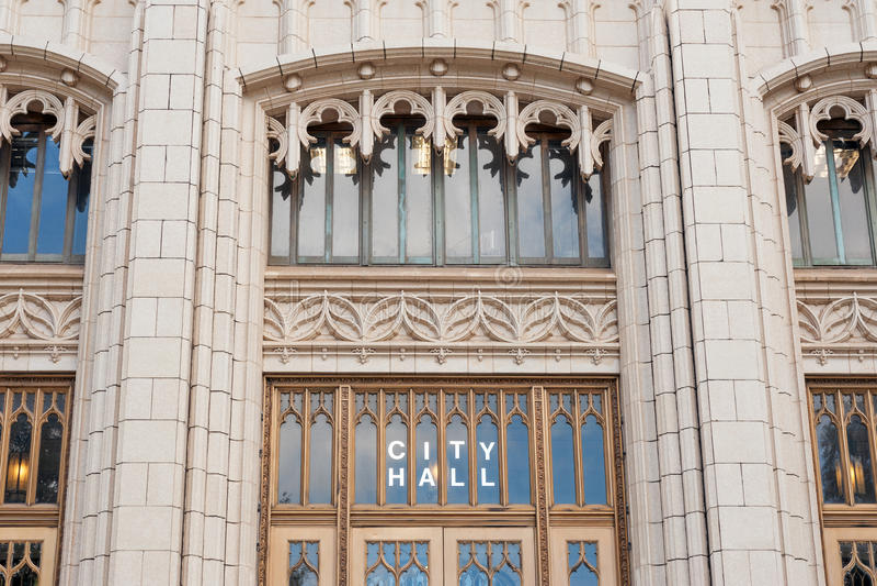 Het Stadhuis van Atlanta stock foto