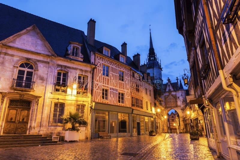 Het Stadhuis van Auxerre en Klokketoren royalty-vrije stock foto