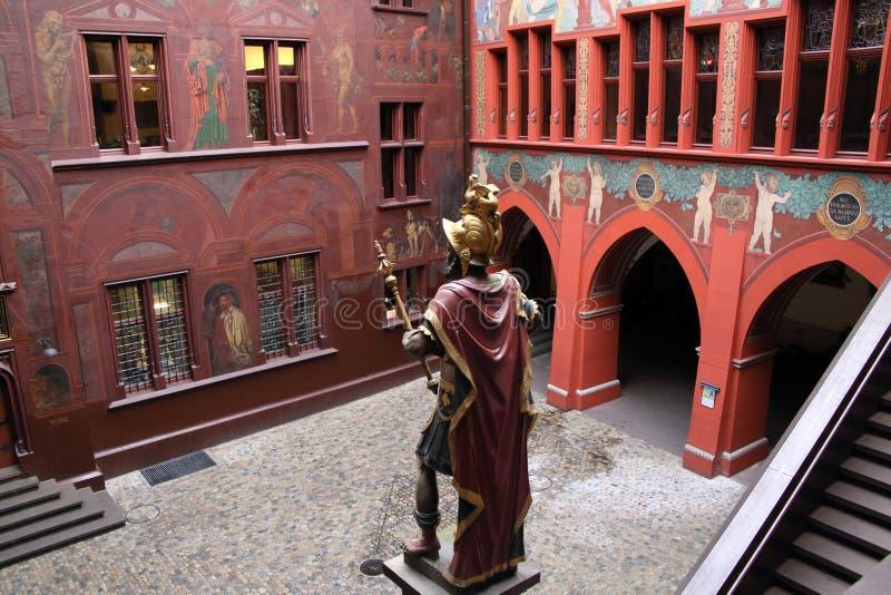 Het Stadhuis van Bazel royalty-vrije stock foto