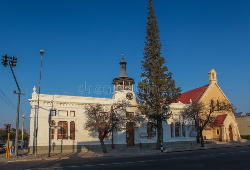 Het stadhuis van het Beaufortwesten royalty-vrije stock foto's