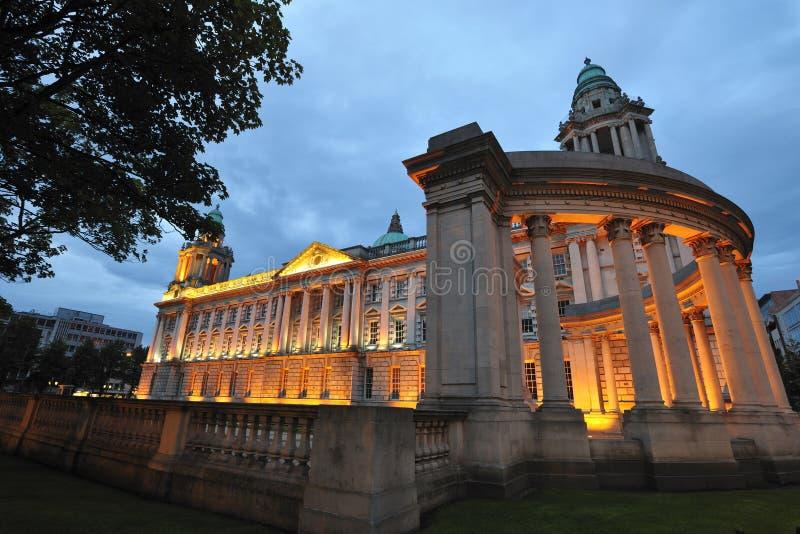 Het Stadhuis van Belfast royalty-vrije stock afbeelding