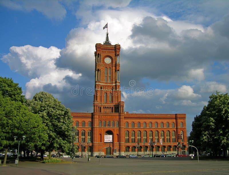 Het Stadhuis van Berlijn royalty-vrije stock foto