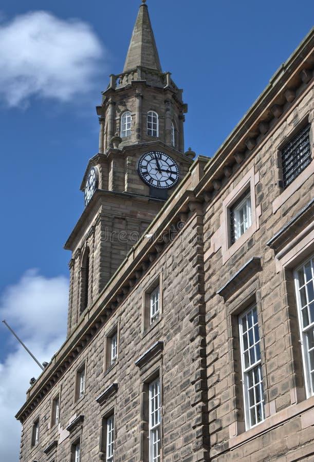 Het Stadhuis van Berwick stock foto