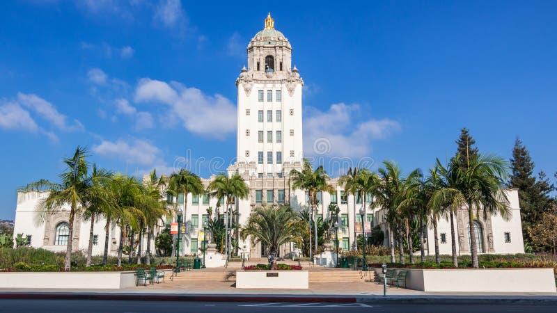 Het Stadhuis van Beverly Hills royalty-vrije stock afbeelding