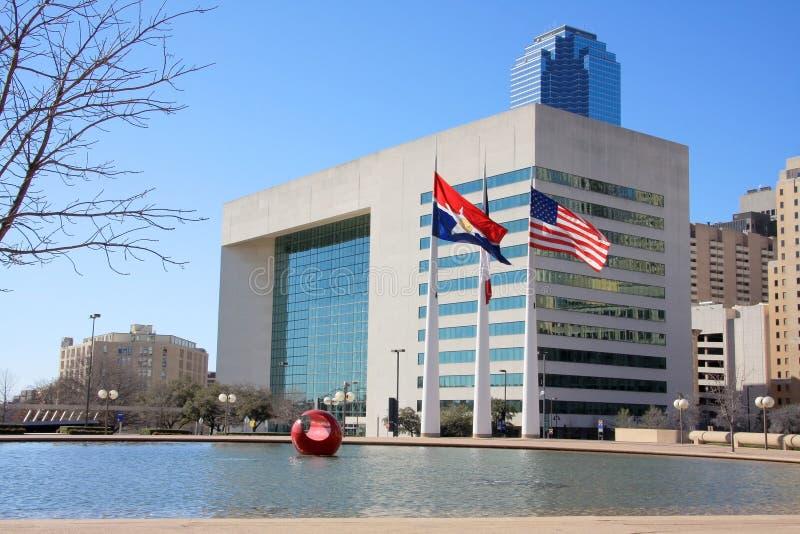 Het stadhuis van Dallas stock fotografie