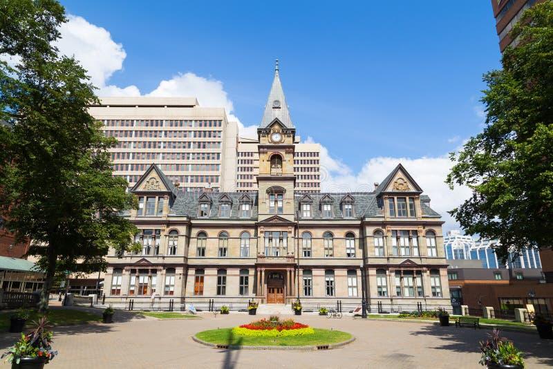 Het Stadhuis van Halifax stock afbeelding