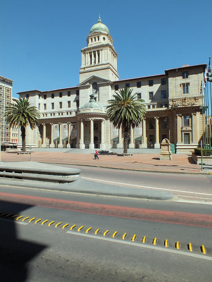 Het Stadhuis van Johannesburg royalty-vrije stock foto's