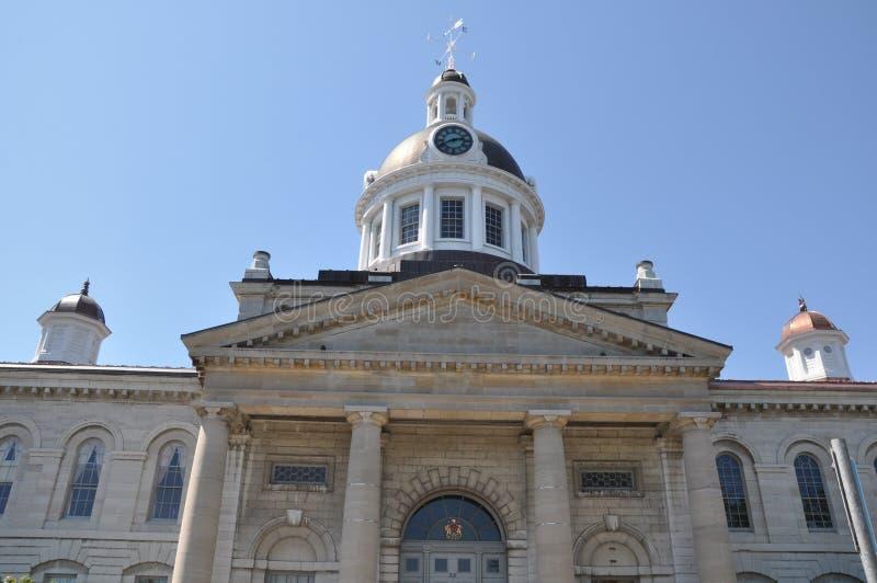 Het Stadhuis van Kingston in Ontario stock afbeelding