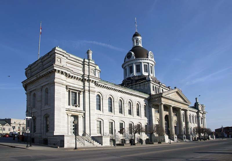 Het Stadhuis van Kingston, Ontario, Canada stock afbeeldingen