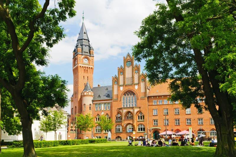 Het stadhuis van Koepenick stock foto's