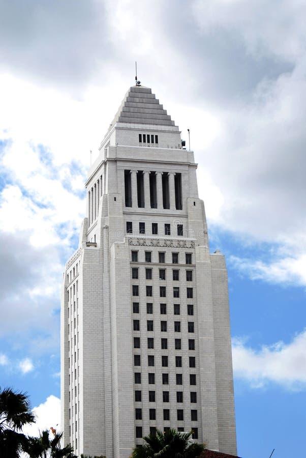 Het Stadhuis van Los Angeles stock afbeeldingen