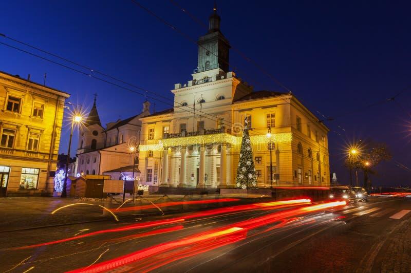 Het Stadhuis van Lublin royalty-vrije stock afbeelding