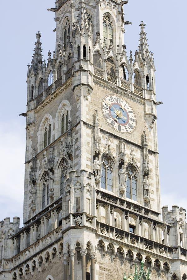 Het Stadhuis van M?nchen stock foto's