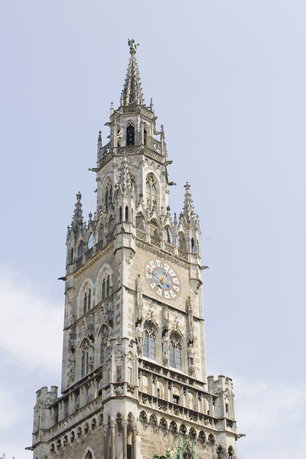 Het Stadhuis van M?nchen royalty-vrije stock fotografie
