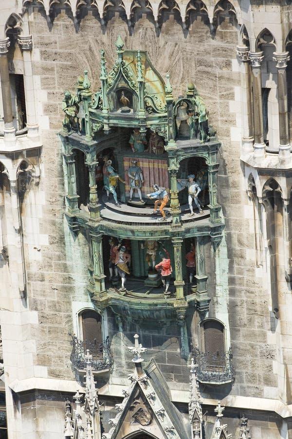 Het Stadhuis van M?nchen royalty-vrije stock afbeelding