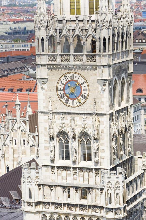 Het Stadhuis van M?nchen stock afbeelding