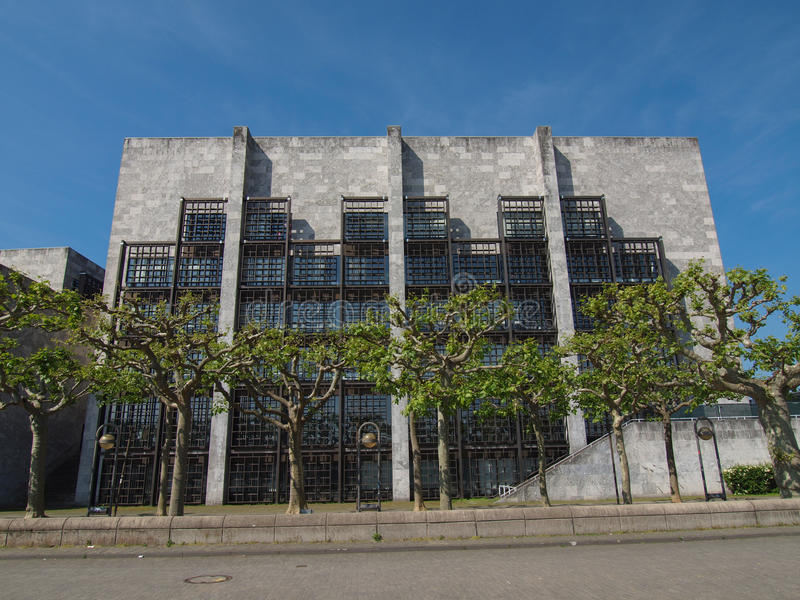 Het Stadhuis van Mainz royalty-vrije stock foto's