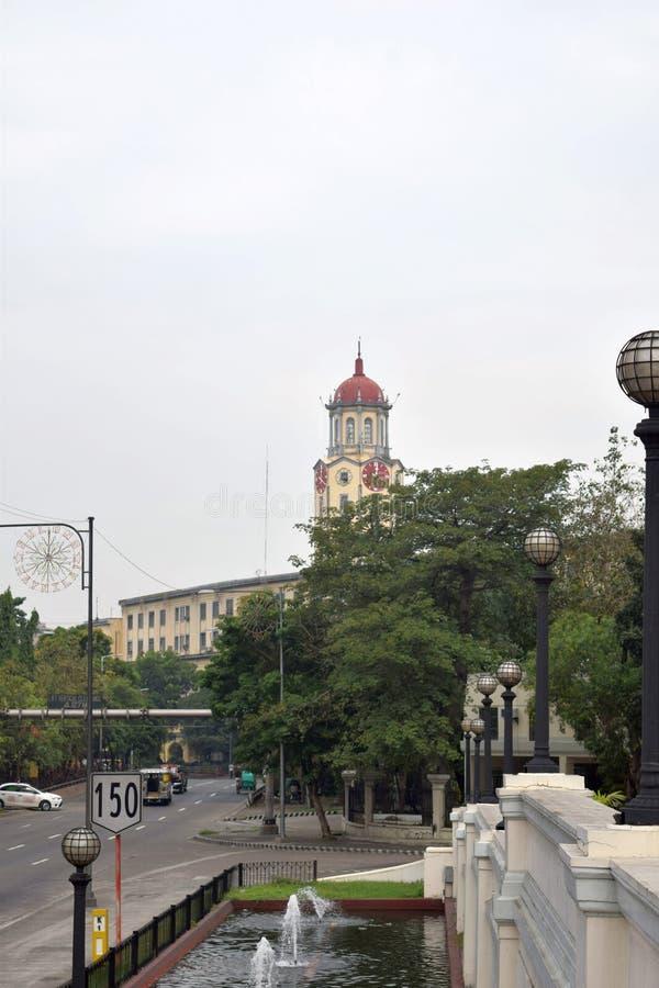 Het Stadhuis van Manilla stock afbeeldingen