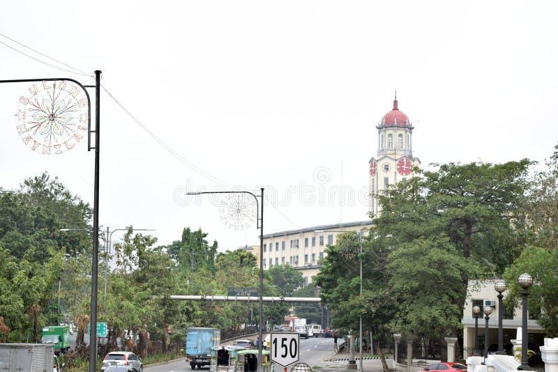 Het Stadhuis van Manilla stock foto's