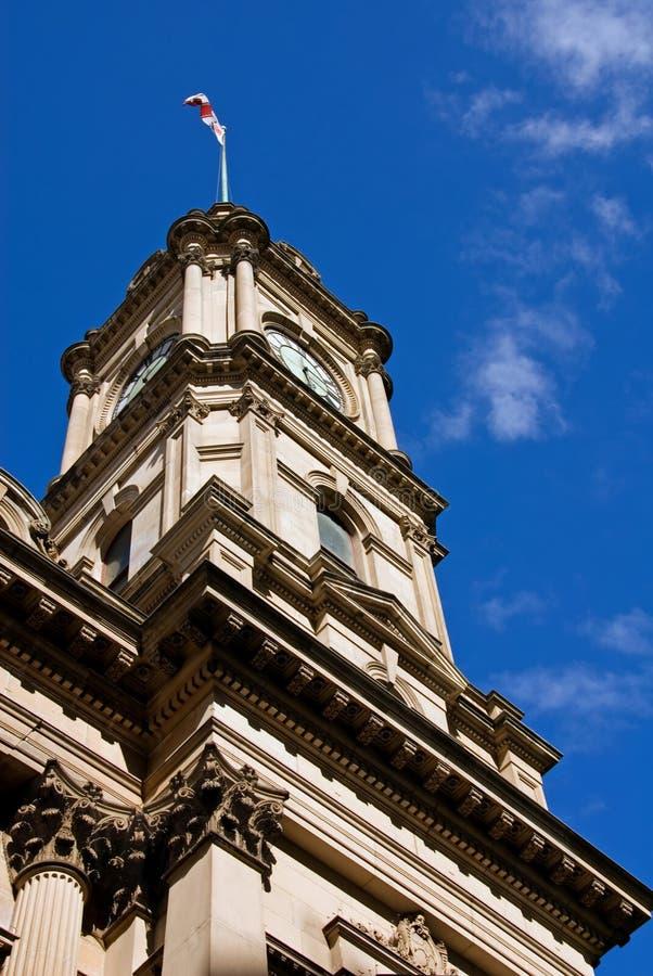 Het Stadhuis van Melbourne royalty-vrije stock fotografie