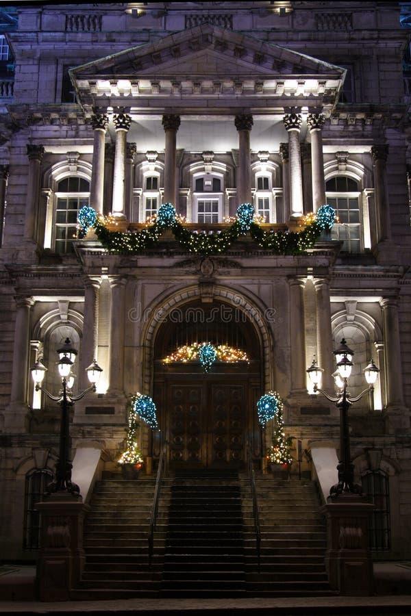 Het Stadhuis van Montreal royalty-vrije stock afbeeldingen