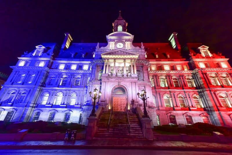Het stadhuis van Montreal stock foto
