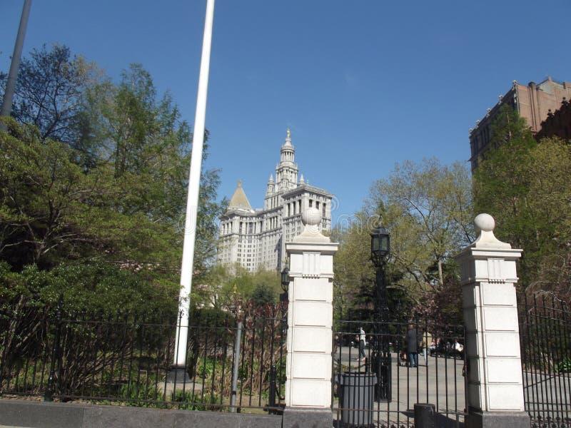 Het Stadhuis van New York stock foto's