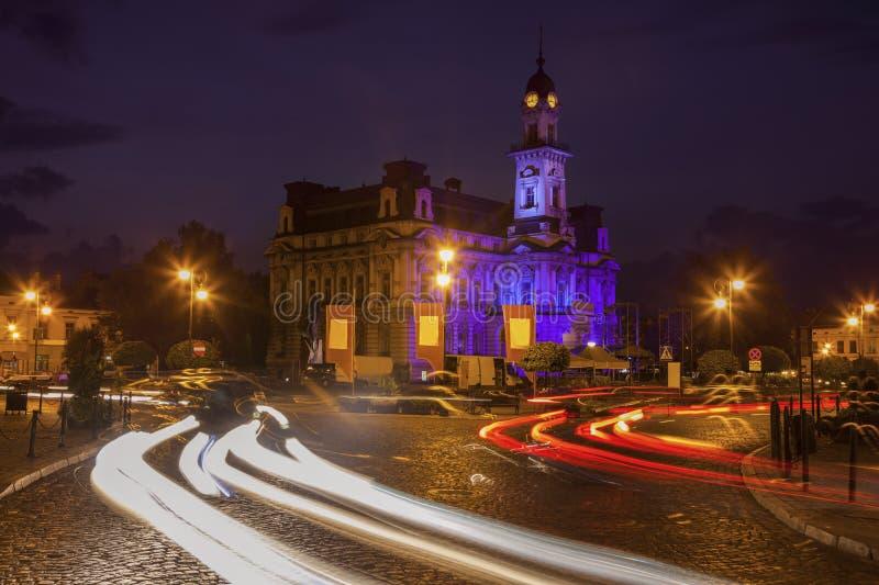 Het Stadhuis van Nowysacz royalty-vrije stock fotografie