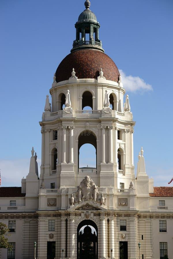 Het Stadhuis van Pasadena stock foto
