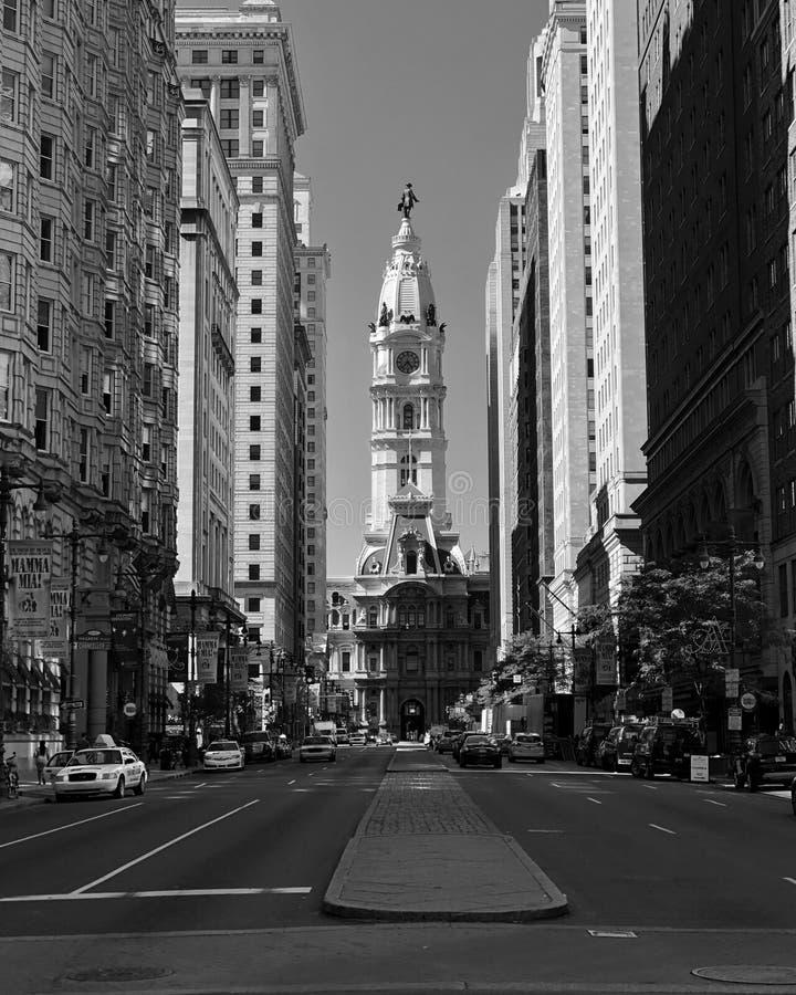 Het Stadhuis van Philadelphia stock afbeeldingen