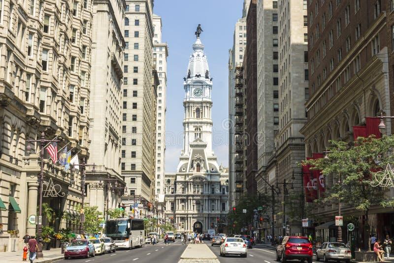 Het Stadhuis van Philadelphia royalty-vrije stock afbeelding