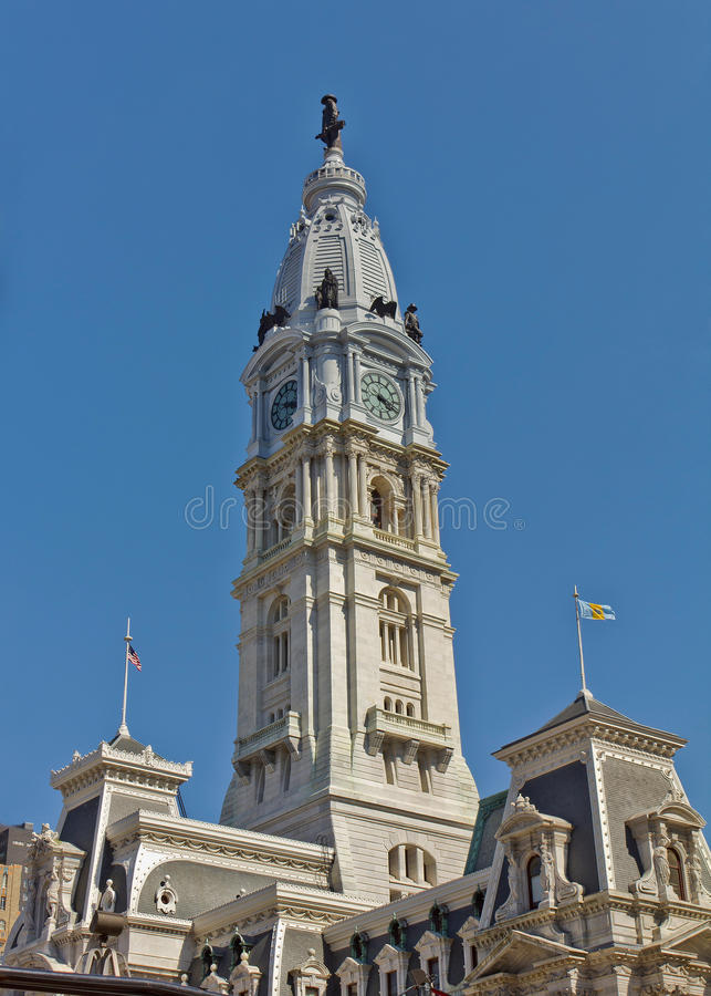 Het Stadhuis van Philadelphia royalty-vrije stock afbeeldingen
