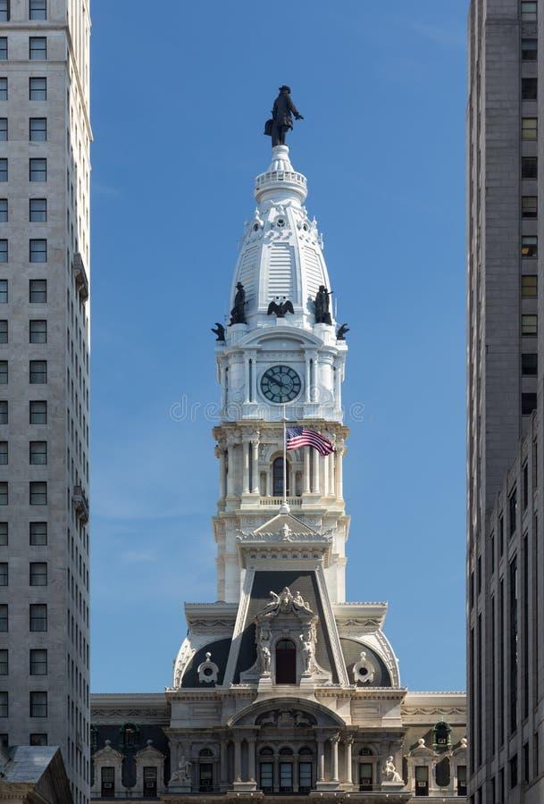 Het Stadhuis van Philadelphia royalty-vrije stock foto