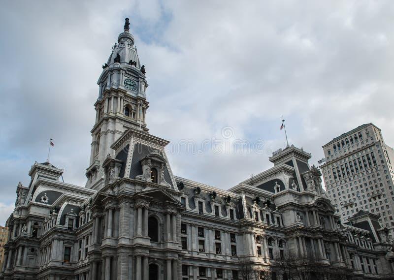 Het Stadhuis van Philadelphia, Philadelphia, Pennsylvania, de V.S. royalty-vrije stock afbeelding
