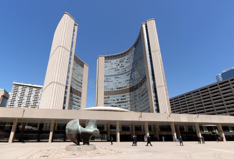 Het Stadhuis van Toronto royalty-vrije stock afbeelding