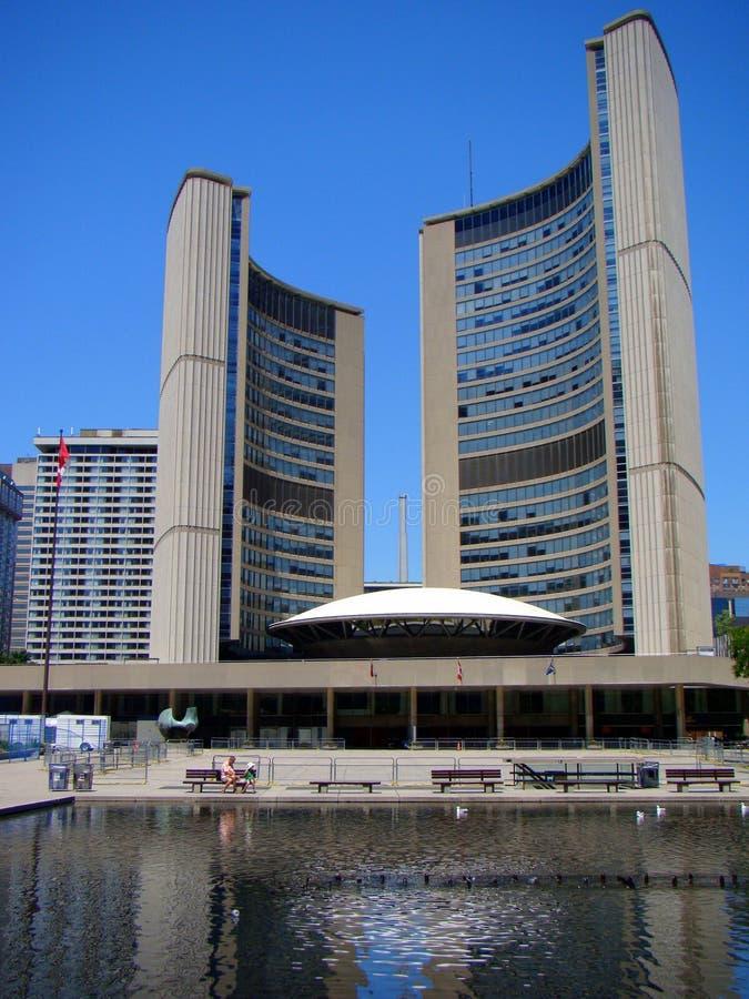 Het Stadhuis van Toronto van Toronto, Canada stock foto's