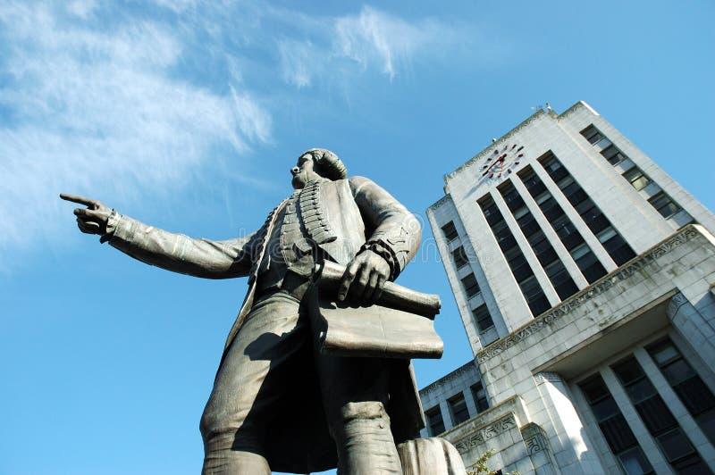 Het Stadhuis van Vancouver stock afbeeldingen