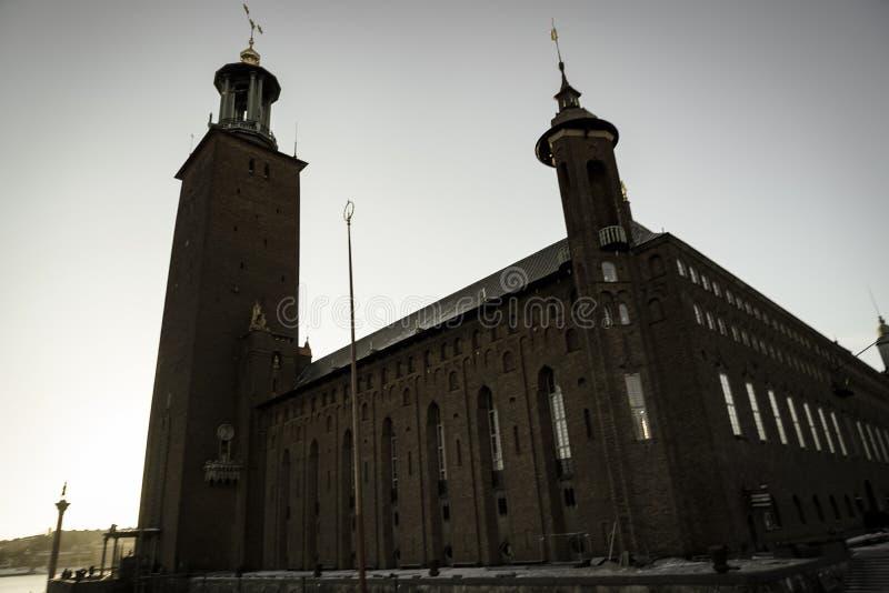 Het Stadhuis Zweden van Stockholm royalty-vrije stock foto's