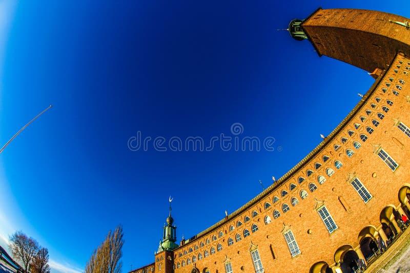 Het Stadhuis Zweden van Stockholm stock fotografie