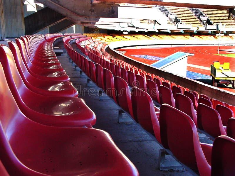 Het stadion royalty-vrije stock foto's