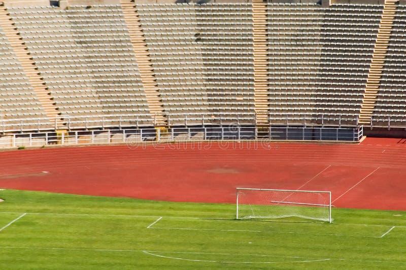 Het stadion Johannesburg van de voetbal stock foto