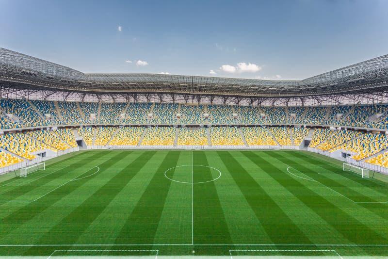 Het stadion van arenalviv royalty-vrije stock afbeelding