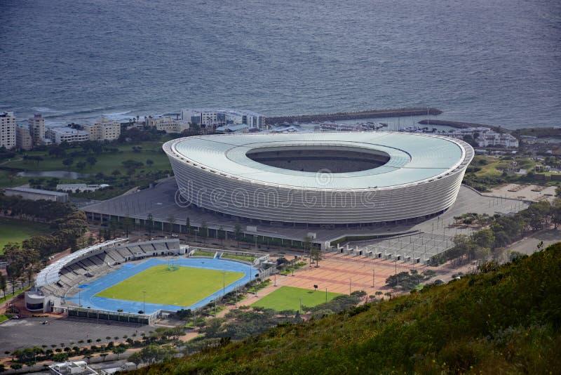 Het Stadion van Cape Town, Cape Town, Zuid-Afrika stock foto's