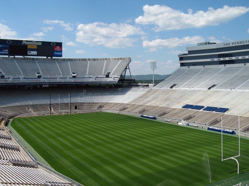 Het Stadion van de bever bij de Universiteit van de Staat Penn stock foto's