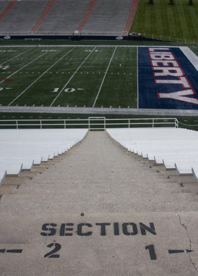 Het Stadion van de voetbal royalty-vrije stock foto's