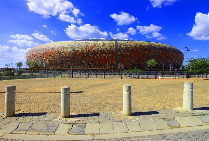 Het stadion van Johannesburg FNB stock afbeelding
