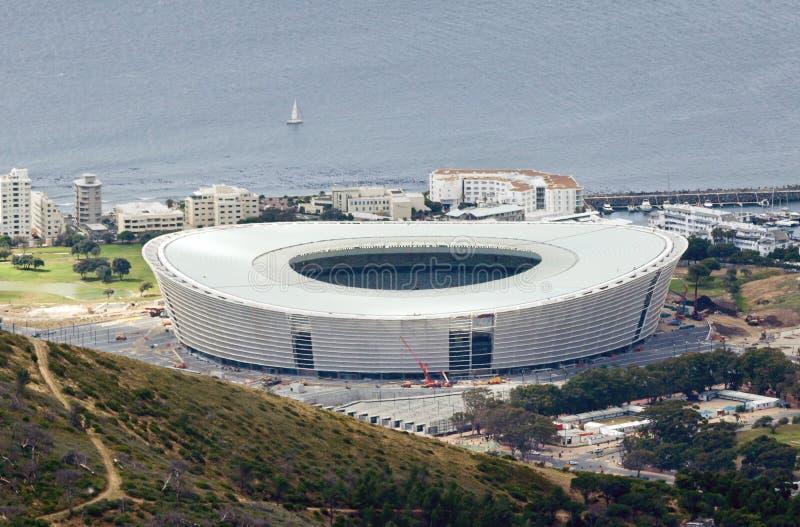 Het Stadion van Kaapstad stock foto's