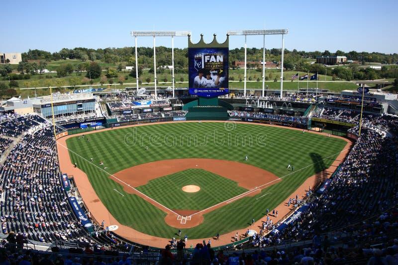 Het Stadion van Kauffman - de Stad Royals van Kansas royalty-vrije stock foto's